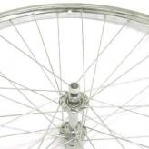 Koło rowerowe przednie merkloos 26'' x 1 3/8 chromowana