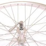 Koło rowerowe przednie merkloos 26'' x 1.75 srebrne