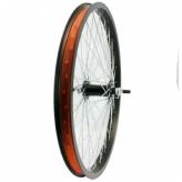 Koło rowerowe przednie merkloos 20'' freestyle 48 szprych 10 mm czarne