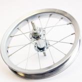 Tylne koło rowerowe lief 12'' chromowane