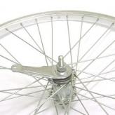 Koło rowerowe tylne merkloos 24'' x 1.75 shimano srebrne