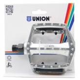 Union pedały 102 bmx 9/16 srebrne