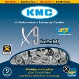 Łańcuch rowerowy kmc x9e ecoproteq