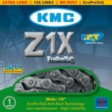 Łańcuch rowerowy KMC Z1X 128 ogniw