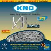 Łańcuch rowerowy kmc x9e ept e-bike ecoproteq