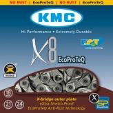 Łańcuch rowerowy kmc x8 ecoproteq