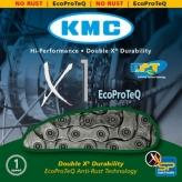 Łańcuch rowerowy kmc x1 ecoproteq 3/32