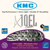 Łańcuch rowerowy kmc x10el silver (extra light)