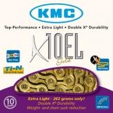 Łańcuch rowerowy kmc x10el gold (extra light)