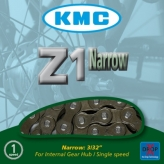 Łańcuch rowerowy kmc z1 3/32 narrow