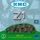 Łańcuch rowerowy KMC Z1 1/8 brązowy