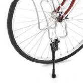 Nóżka rowerowa na przód  do bagażnika lowrider hebie czarna