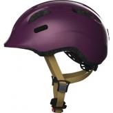 Kask rowerowy dziecięcy Abus Smiley 2.0 Royal Purple M
