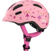 Kask rowerowy Abus Smiley 2.0 S 45-50 rose princess