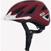 Kask rowerowy abus urban-l 2.0 marsala red m 52-58cm