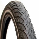 Opona rowerowa Deli 24x1.75 s-206 R czarna