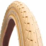 Opona rowerowa Deli 24x1.75 s-206 R kremowa