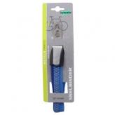 Gumy na bagażnik rowerowy dziecięcy Widek retro 3 taśmy błękitne - niebieskie