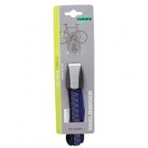 Gumy na bagażnik rowerowy dziecięcy Widek retro 3 taśmy srebrne - niebieskie
