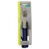 Gumy na bagażnik rowerowy dziecięcy Widek retro 3 taśmy szare - niebieskie