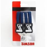 Gumy na bagażnik dziecięcy Simson 3 taśmy granatowy