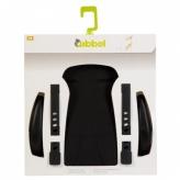 Wyściółka do fotelika rowerowego Qibbel czarna