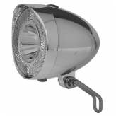 Union lampka przednia retro led bateria chrom krt