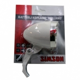 Simson lampka przednia holland bateria aan/uit wt