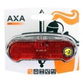Tylna lampa rowerowa Axa Riff na bagażnik