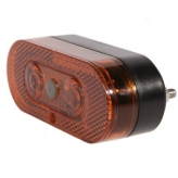 Tylna lampka rowerowa ikzi zlim 50/80mm