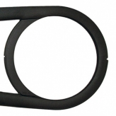 Osłona łańcucha przód Hebie Chainglider 38z czarna