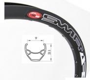 Obręcz rowerowa 29 disc eyelets 32H czarna
