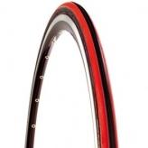 Opona rowerowa CST Czar 700x23 czarna/czerwona