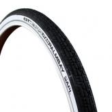 Opona rowerowa cst palmbay metropolitan 28x2.00 (50-622) czarna z bialym bokiem