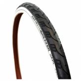 Opona rowerowa CST 28x1.50 Reflex czarno-biała