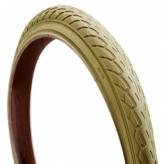 Opona rowerowa Deli 18x1.75 s-206 kremowa