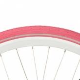 Opona rowerowa Deli 28x1 1/2 reflex różowa