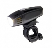 Lampka przednia rowerowa 1 watt usb 300 lumen