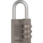 Kłódka Abus 145/30 szyfr titanium