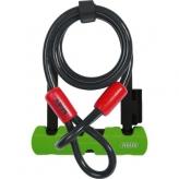 Zapięcie rowerowe U-Lock Abus Ultra Mini 410 + linka Abus Cobra