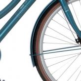 Cortina v błotniki u5 iriShimano blue