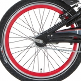 Alp a wiel 20 red-black