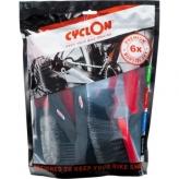 Cyclon zestaw 6 szczotek do czyszczenia roweru