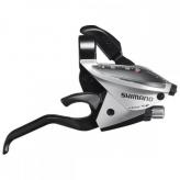 Klamkomanetki Shimano ST-EF510 3x8 srebrne