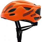 Kask rowerowy Abus S-Cension pomarańczowy neon L