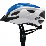 Kask rowerowy Abus S-Cension biały - niebieski M