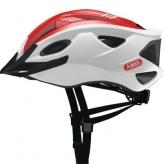 Kask rowerowy Abus S-Cension biały - czerwony M