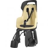 Fotelik dziecięcy na rower Bobike Go 1P tył rama żółty