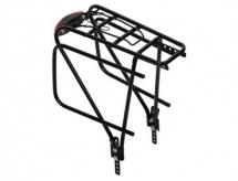 Bagażnik rowerowy regulowany 26-28 zwężany rurka czarny